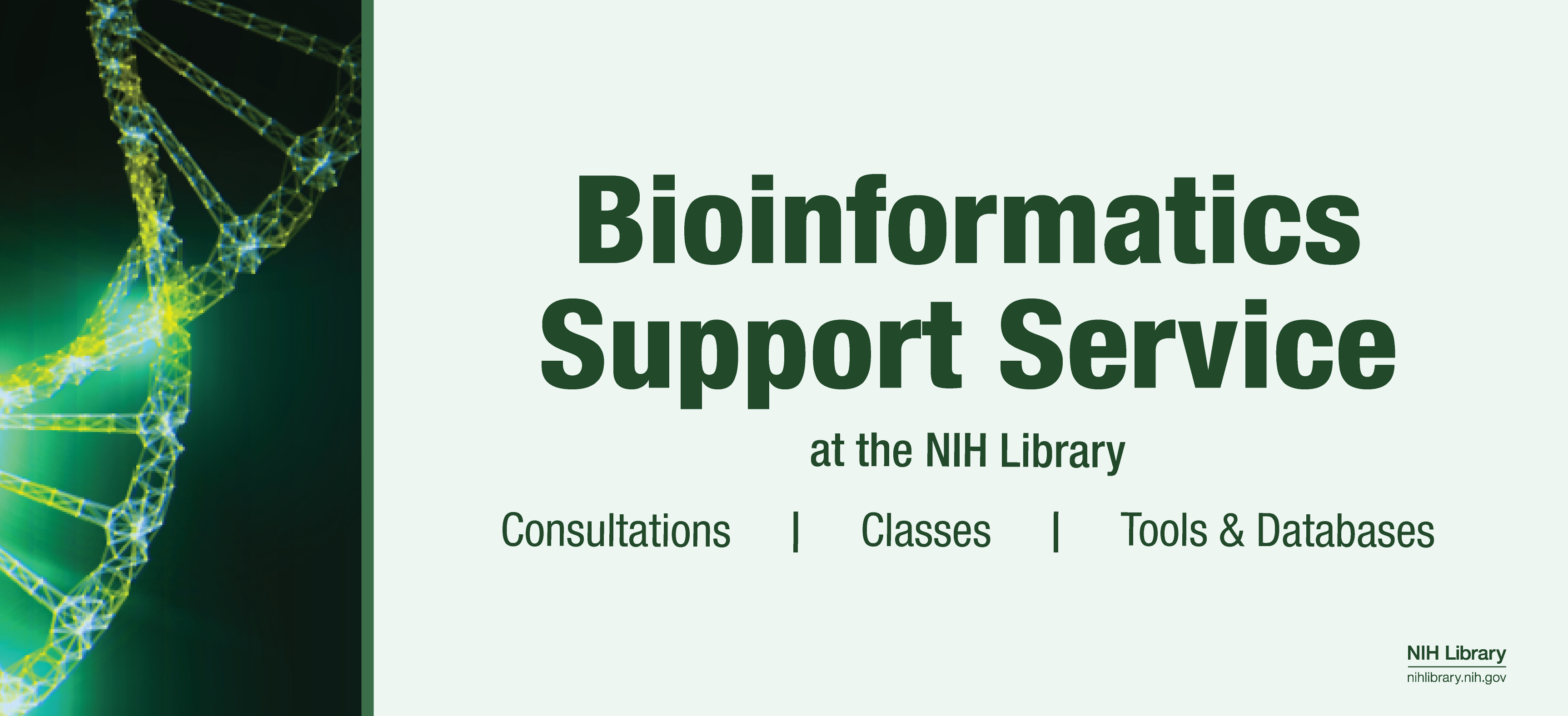 Bioinformatics Support Service at the NIH Library