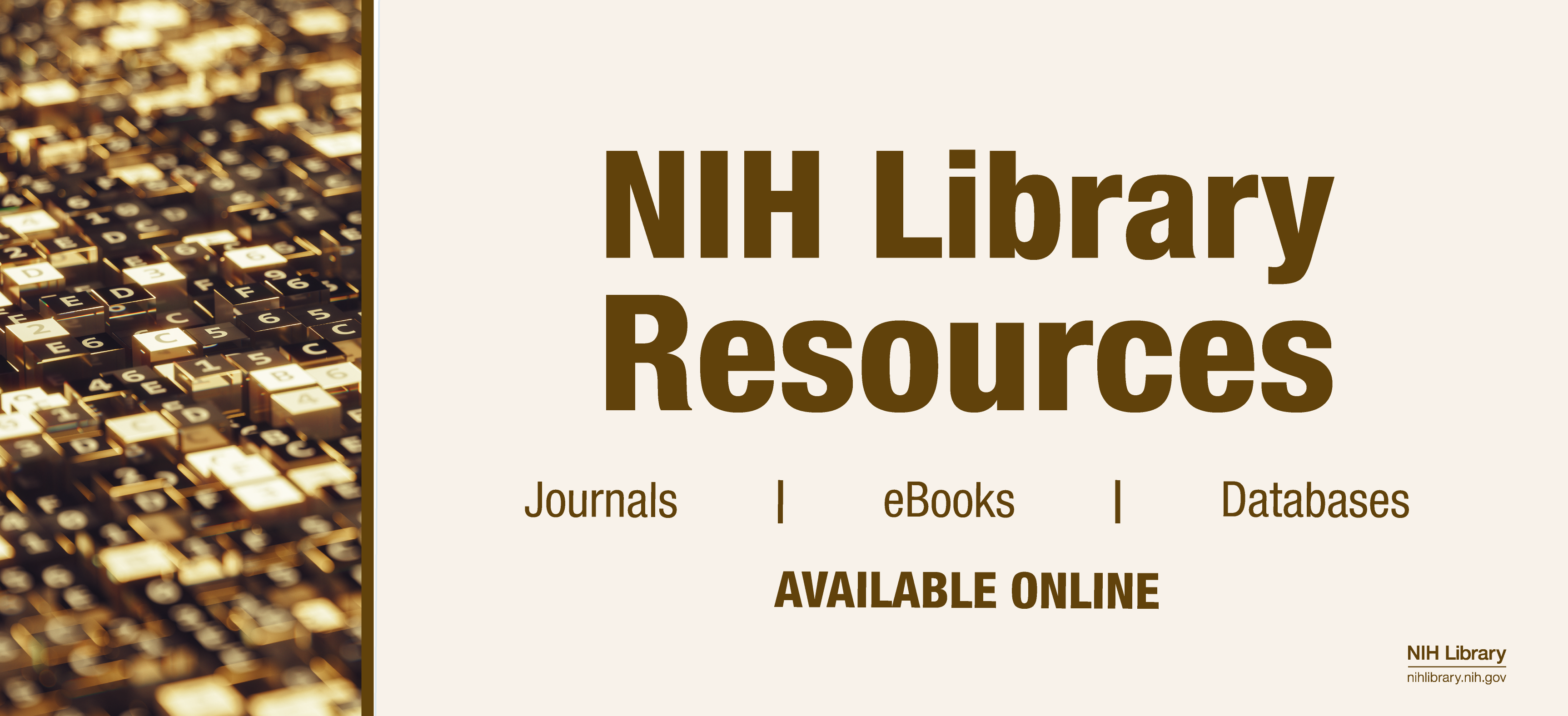 Virtual Research Resources from the NIH Library