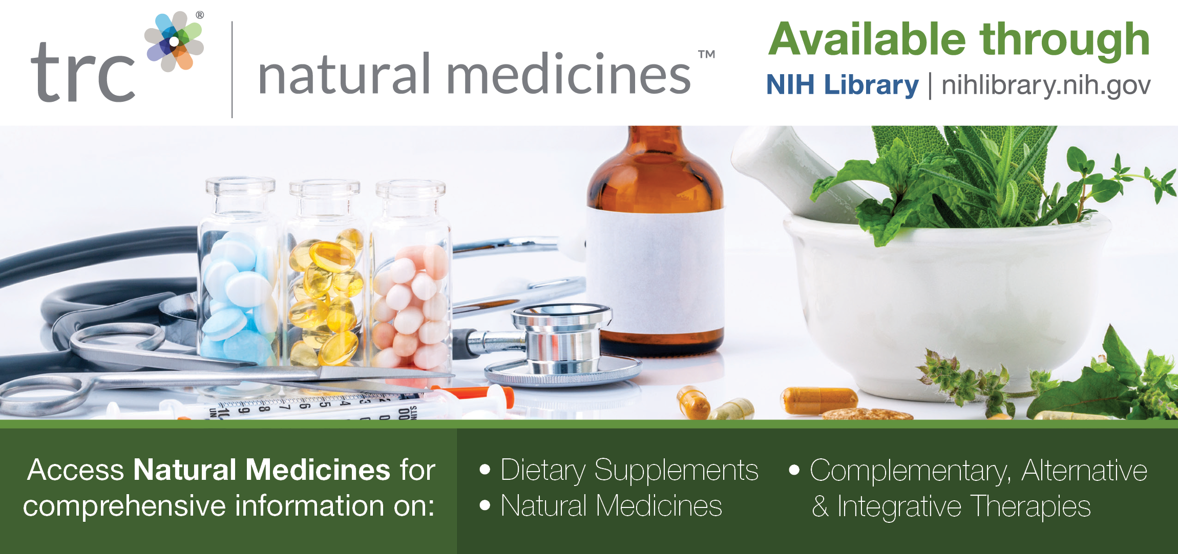 Natural Medicines Database Available to NIH Staff | NIH Library